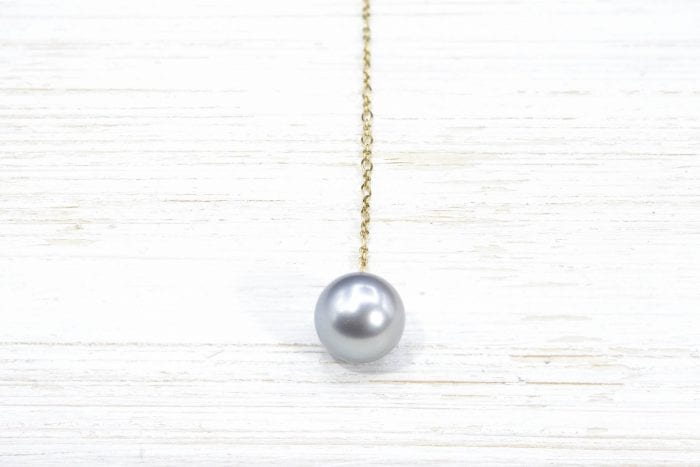 Tahitian pearl pendant necklace