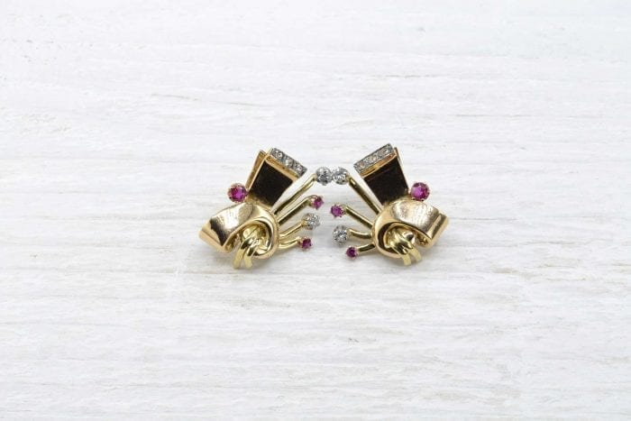 1940´s gold earrings