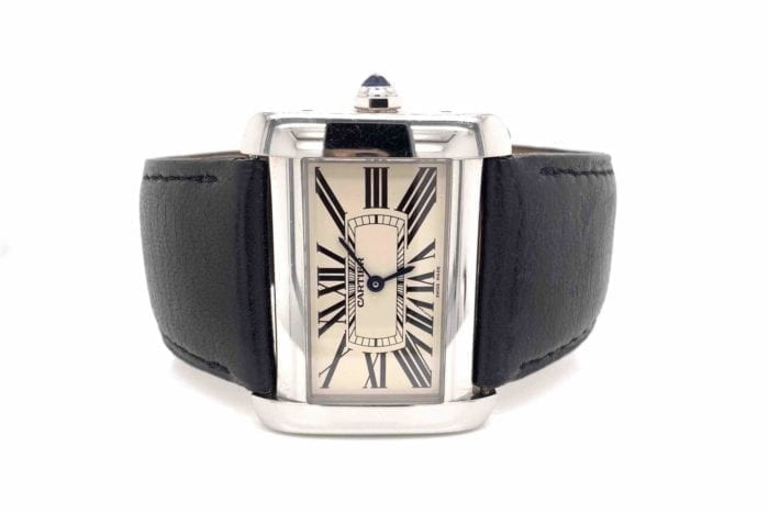 Cartier Divan steel watch