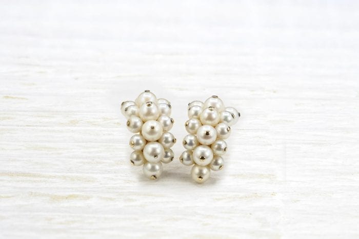 Pre-owned pearls earrings