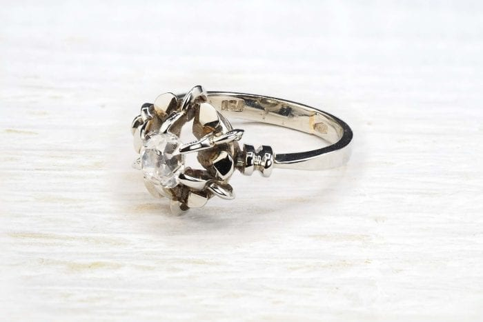 Solitaire diamonds ring from 1970