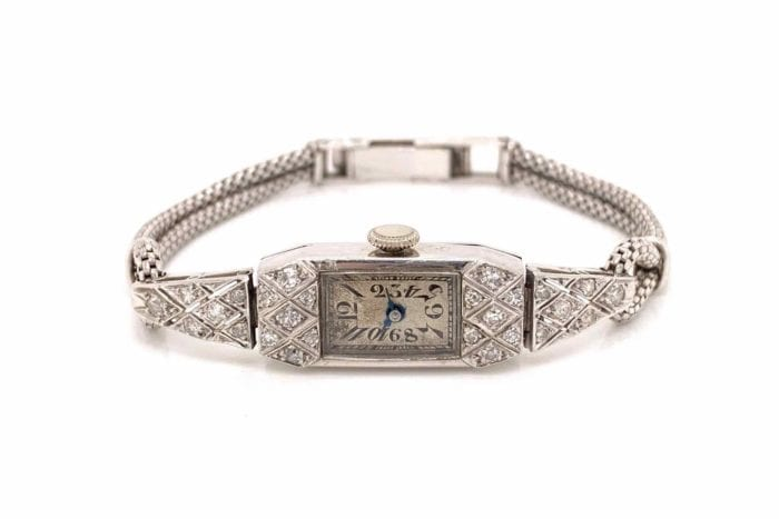 1930´s watch with diamonds and platinum
