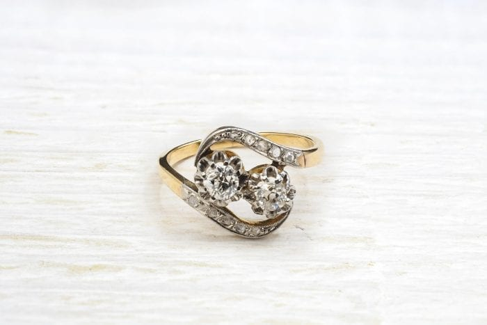 vintage diamonds ring
