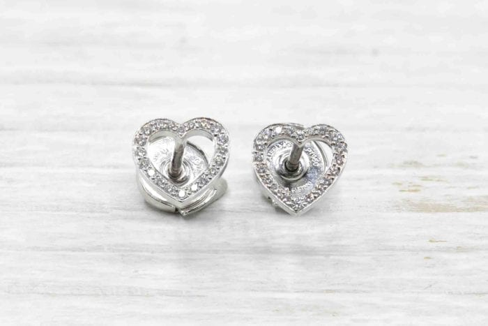 Van Cleef & Arpels Diamond Hearts Earrings