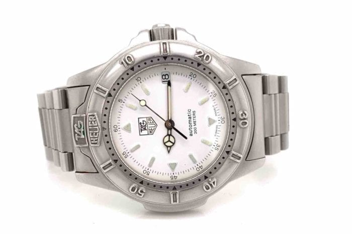 Tag - Heuer watch steel model link