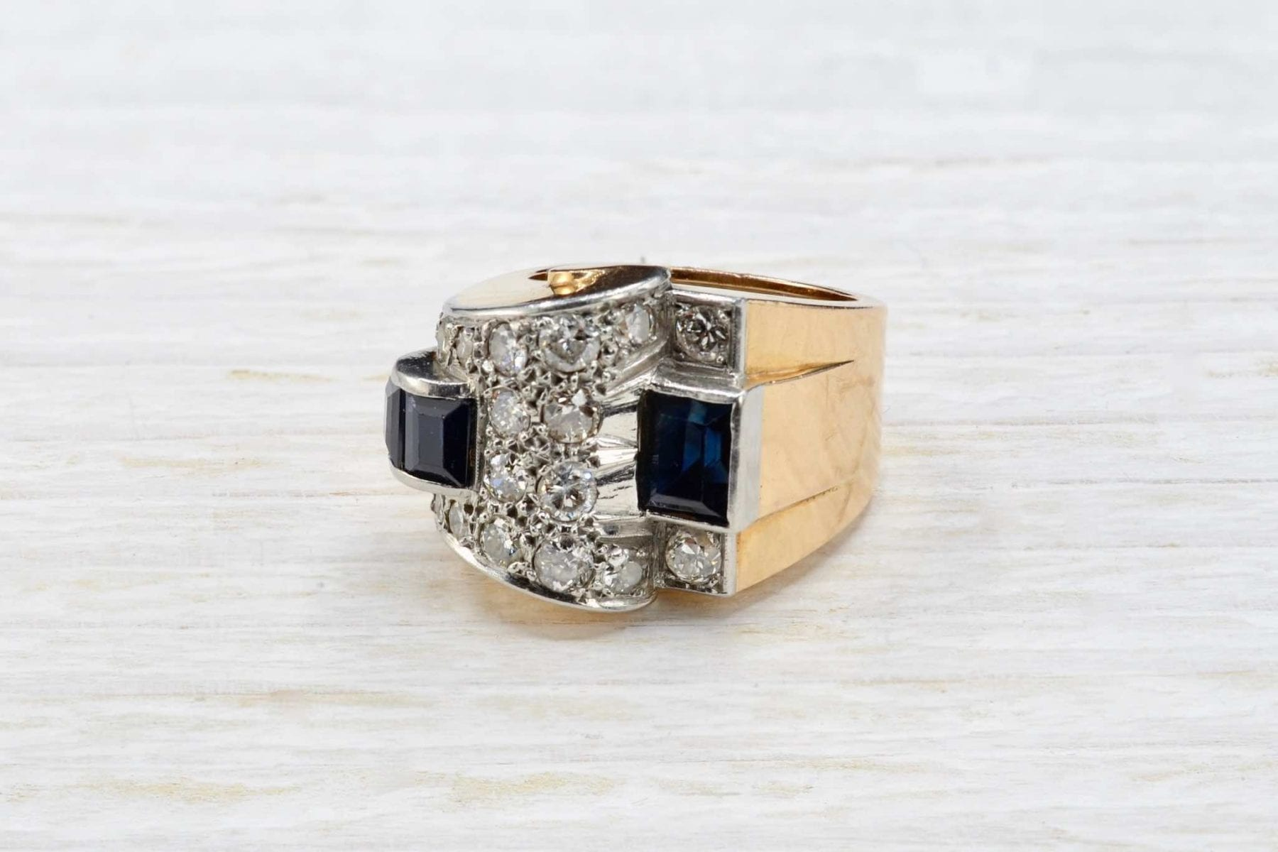 sapphire and diamonds ¨tank¨ring