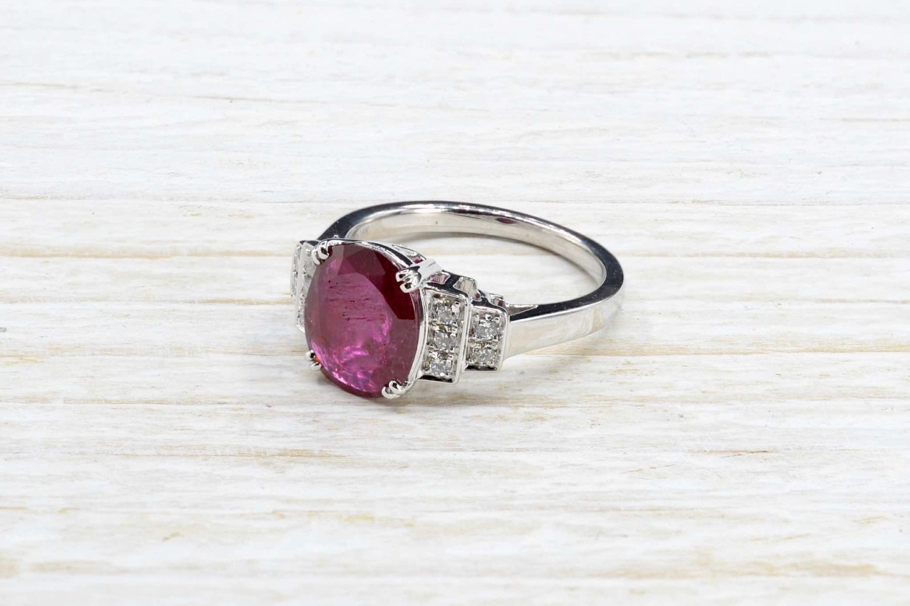 rubies diamond ring