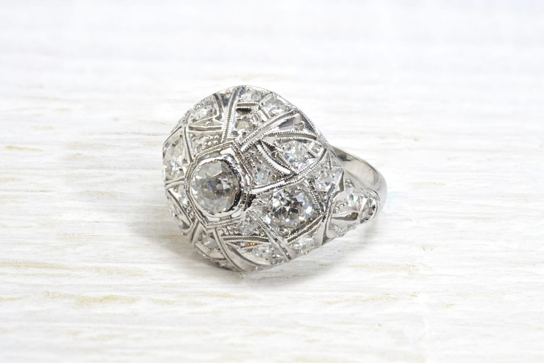 diamonds ¨dome¨ring