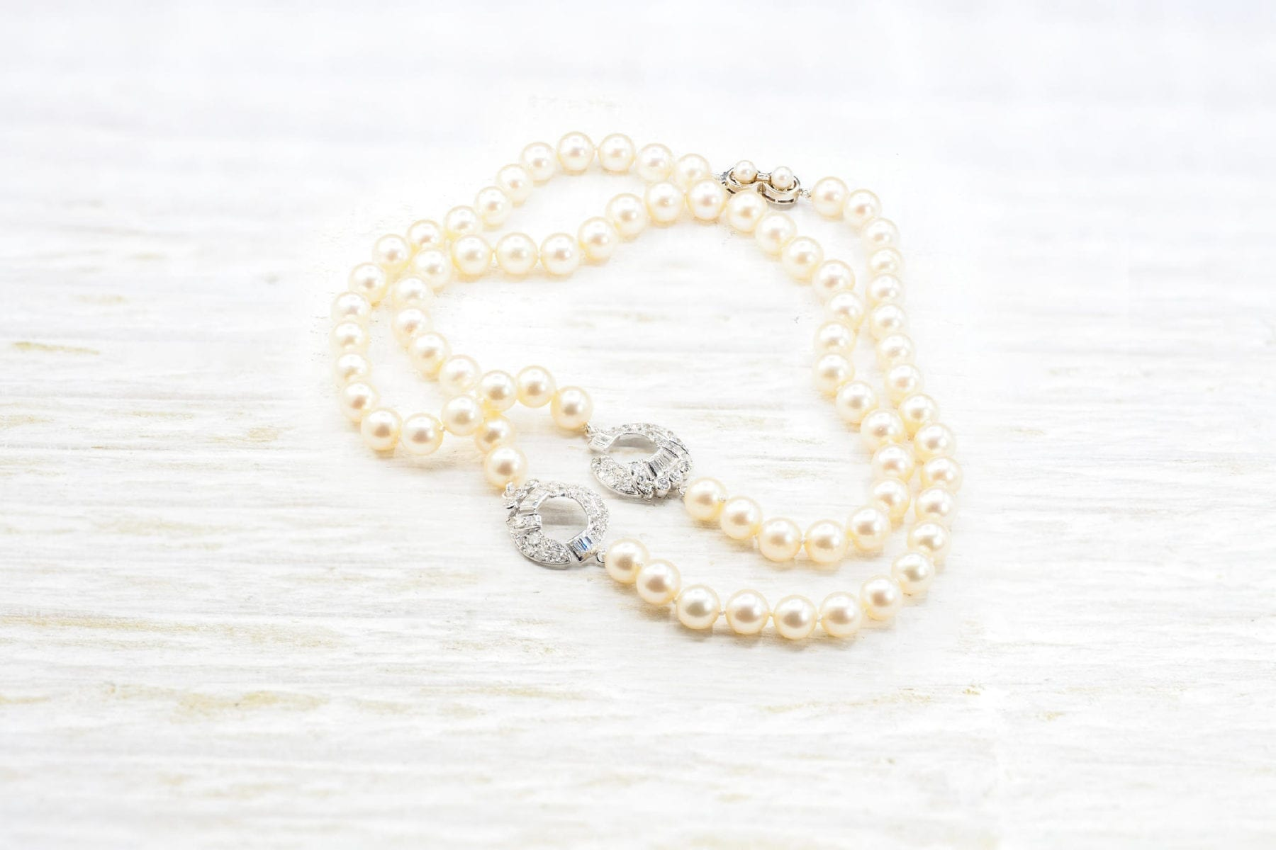 culture pearls necklace