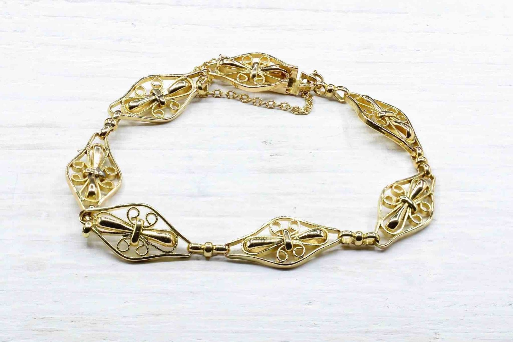 Bracelet ancien en or