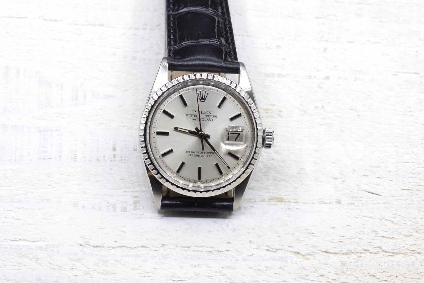 Rolex Oyster Datejust Steel Watch