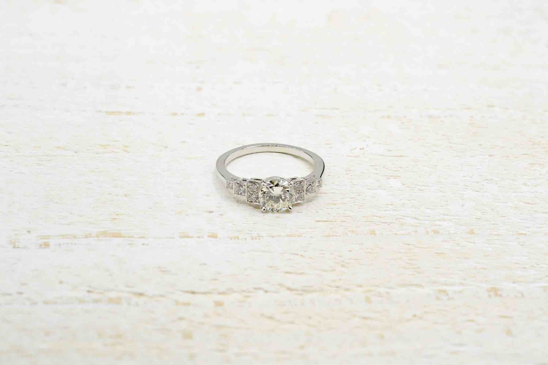 antique diamond ring for engagement
