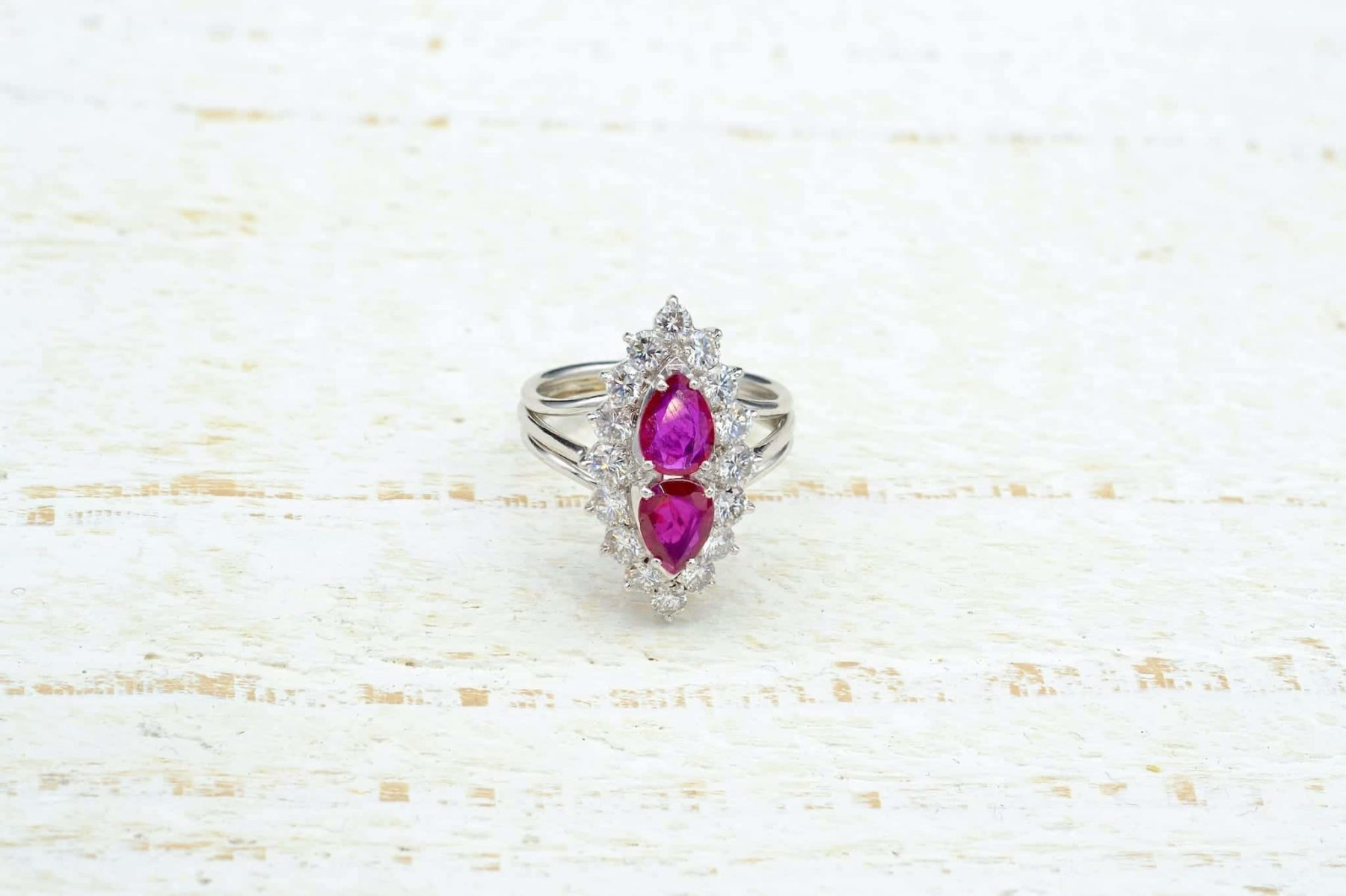 antique ruby and gold ring
